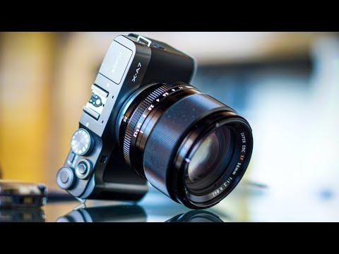 Fujifilm X-A7 - обзор недорогой камеры