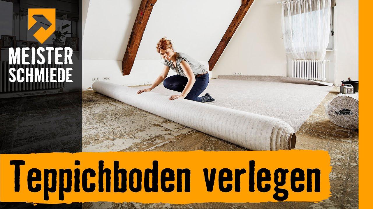 Teppichboden Verlegen Anleitung Von Hornbach