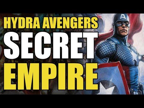 The Hydra Avengers (Marvel's Secret Empire Part 1)