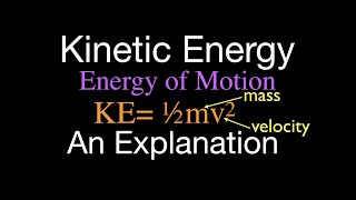 Physics, Kinetic Energy, An Explanation