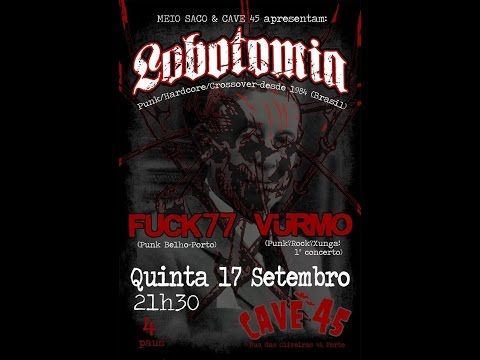 Vurmo + Fuck77 + Lobotomia - 2015.09.17 @CAVE45