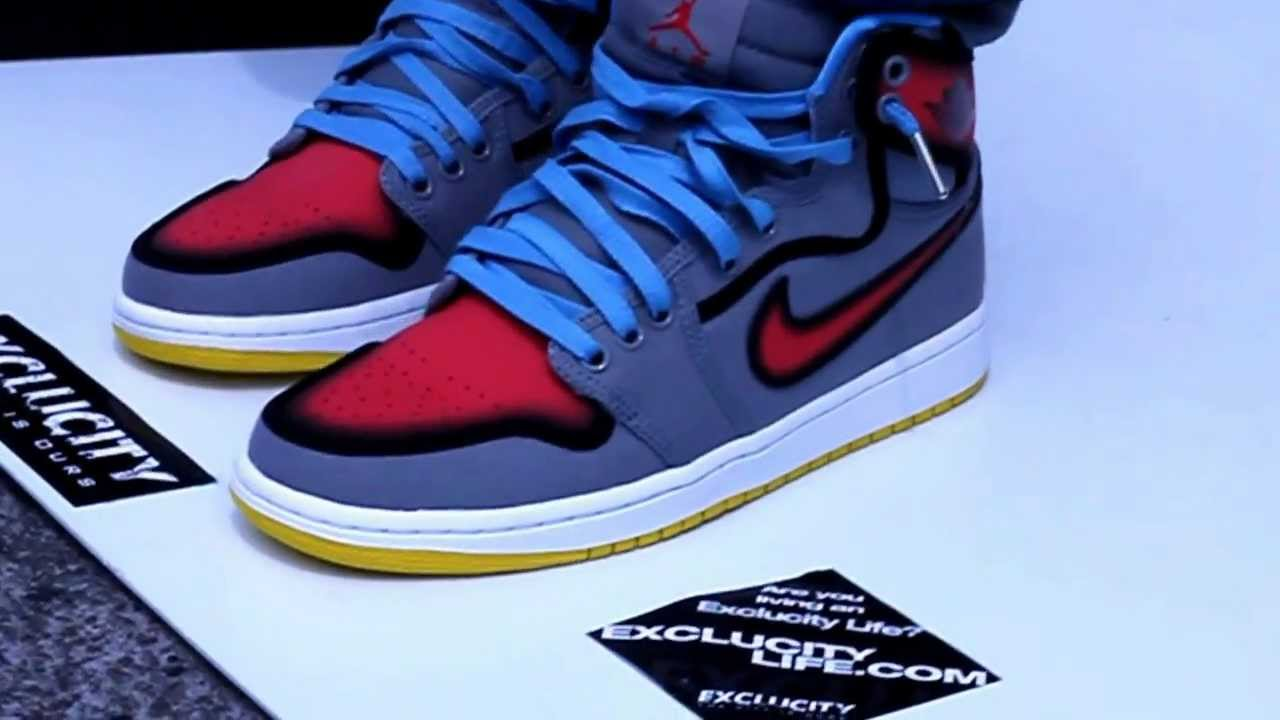Air Jordan 1 Rttg Ko Barcelona On Feet Edition Exclucity Youtube
