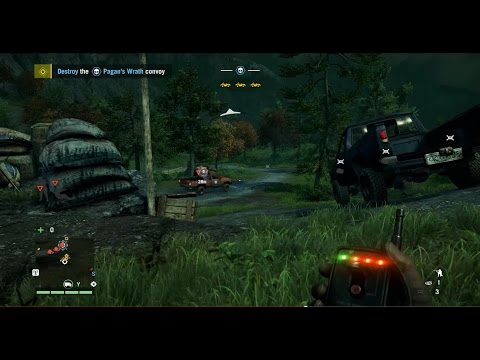 Far Cry 4 - Car Bomb Convoy Ambush (sticky-C4 brake-release)