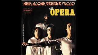 Rare Italian Prog - Gli Opera - Aria, Acqua, Terra e Fuoco (1978)