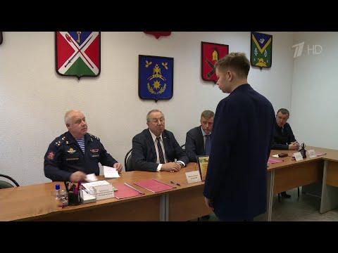 В России начинается осенний призыв в армию.