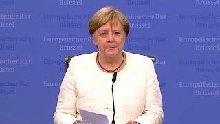 02.07.2019 - PK Angela Merkel -  Nominierung Ursula von der Leyen als Kommissionspräsidentin