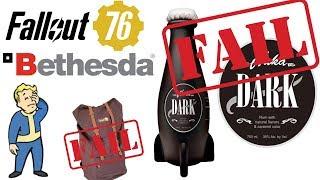 Another Bethesda BLUNDER! $80 Fallout 76 Nuka Dark FAIL!