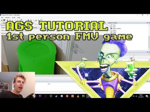 HOW TO QUICKLY MAKE A 1ST PERSON FMV GAME | Adventure Game Studio Quick Tutorial #2