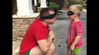 BatDad and Uncle Rob(in)