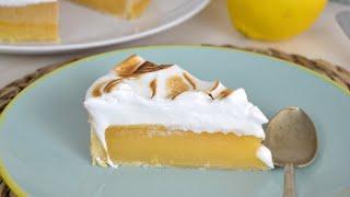 Tarta de limón y merengue ¡Facilísima y deliciosa!