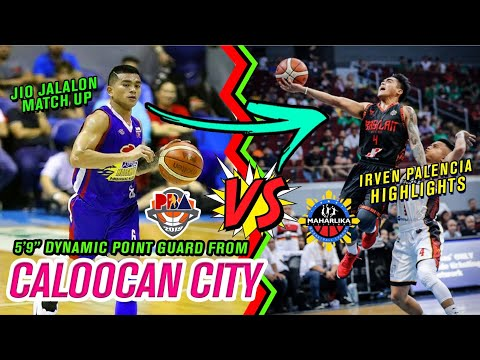 DYNAMIC POINT GUARD FROM CALOOCAN CITY IRVEN PALENCIA - Basketball Highlights