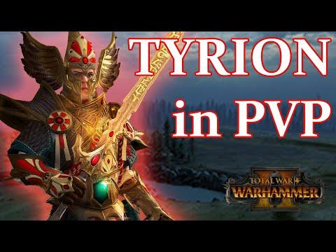 How is TYRION in Multiplayer? - High Elves vs Skaven // Total War: WARHAMMER II Online Battle  