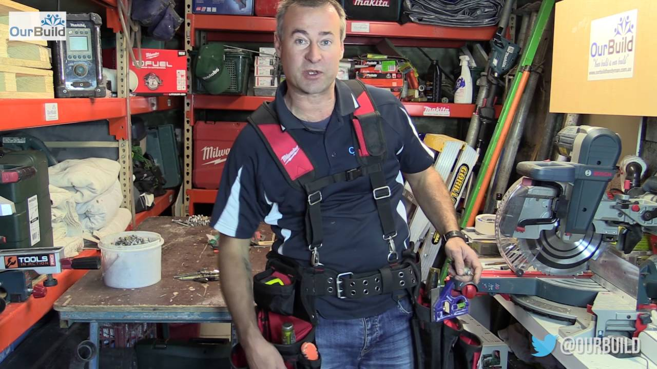 Milwaukee Contractor Work Belt With Suspension Rig Youtube