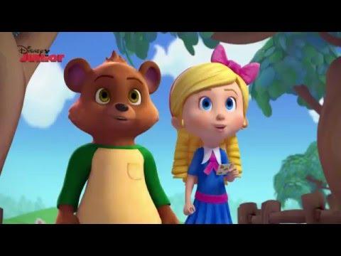 Goldie & Bear | Magic Dancing Feet Song | Disney Junior UK