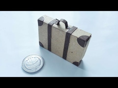 How To Create A Cute Mini Briefcase - DIY Crafts Tutorial - Guidecentral