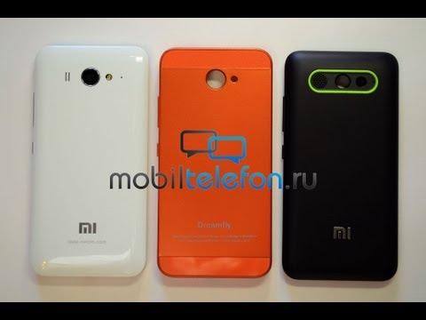 Обзор Xiaomi Mi2S и аксессуаров для него (крышки, мощная батарея) (review)