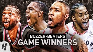 BEST Buzzer Beater GAME-WINNERS of the 2018-19 NBA Season