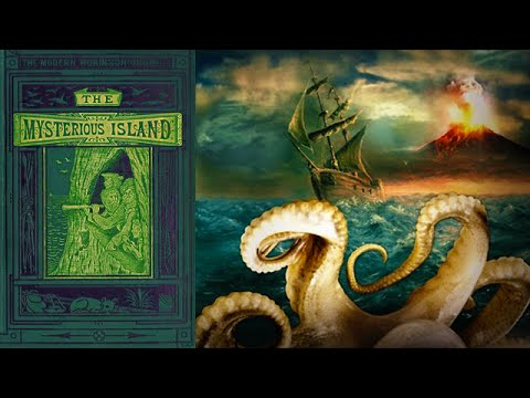 The Mysterious Island [Full Audiobook Part 1] by Jules Verne