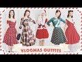 Christmas Advent Outfits! // Vlogmas Day 24 [CC]