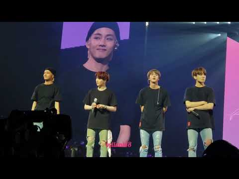 180929  (Ending Ment)- BTS 'Love Yourself' Tour Newark Day 2