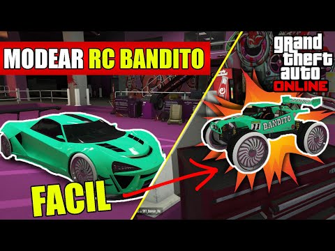 COMO MODEAR El RC BANDITO *SUPER FACIL* | GTA V ONLINE | ChuyGamer