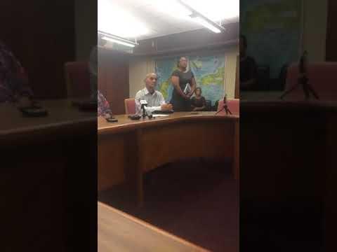 Governor Eddie Calvo addresses Guam's safety & preparedness