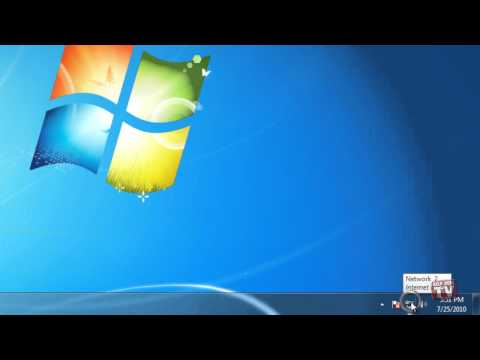 Check Your Network And Internet Connections In Windows 7
