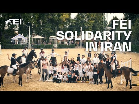 How FEI Solidarity is helping Iran's equestrian community  FEI Solidarity