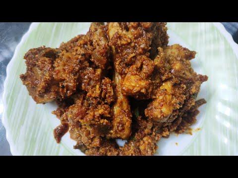 The ultimate Kori/Chicken sukka recipe in TULU -Mangalore style