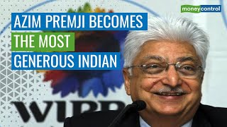 Wipro's Azim Premji Donates Rs 7,904 Crore, Beats Shiv Nadar To Top Philanthropy List
