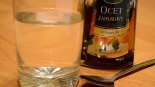 Woda z octem - odchudzająca mikstura