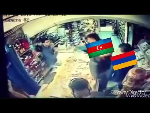 Armenian Vs Two Azeri Bastard
