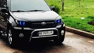 Toyota rav4 TUNING HEADLIGHTS
