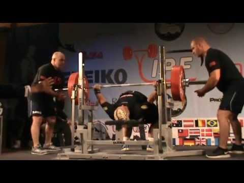 biggest female bench press 227kg in ipf history world record