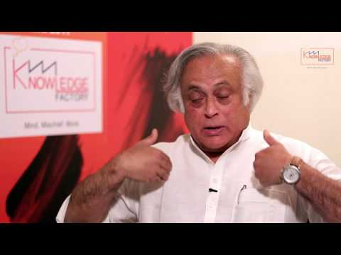 The Knowledge Factory - Jairam Ramesh, Economist and Member of Parliament, Rajya Sabha