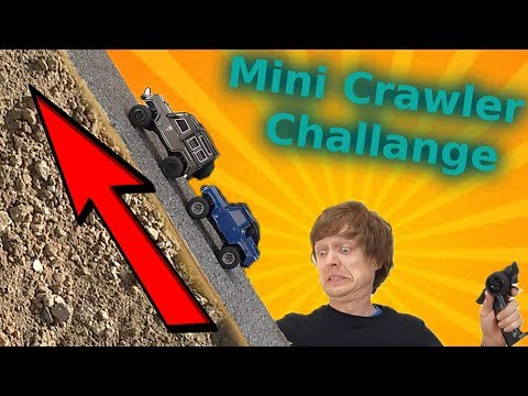 Will The NEW Mini RC Crawler Car Beat The Old One?