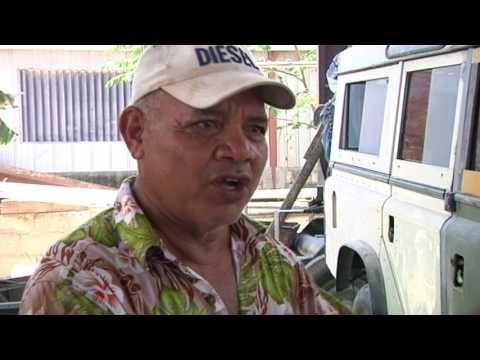 Land Rovers Nauru