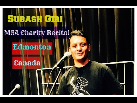 Subash Giri - Charity Recital 2017, University of Alberta, Canada -  Maithili Song