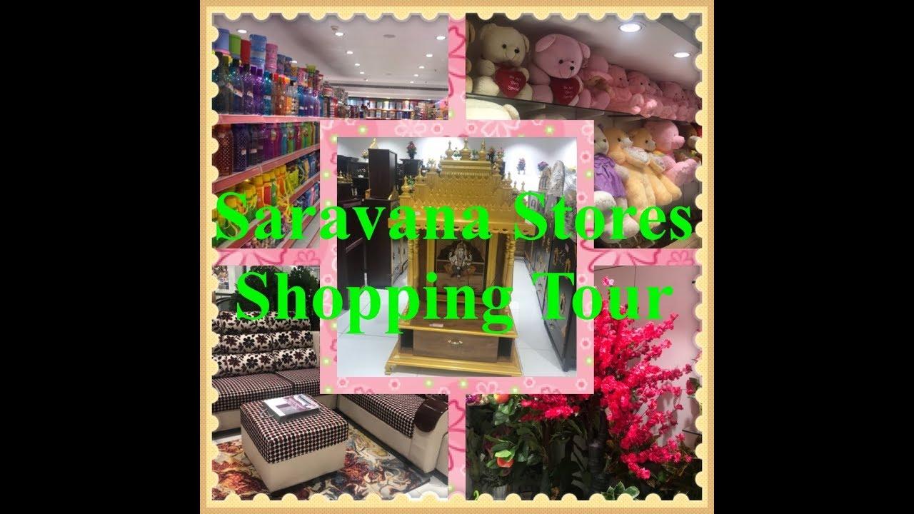 Saravana Stores Furniture Mart Padi Tour Part 1 Shopping Vlog Youtube