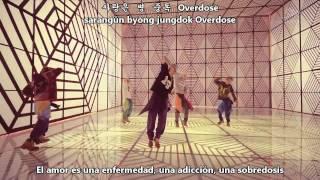 EXO - Overdose (Korean Ver.) [Sub Español + Hangul + Romanización]