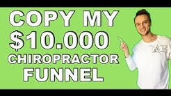 MY WINING SALES FUNNELS FOR CHIROPRACTORS