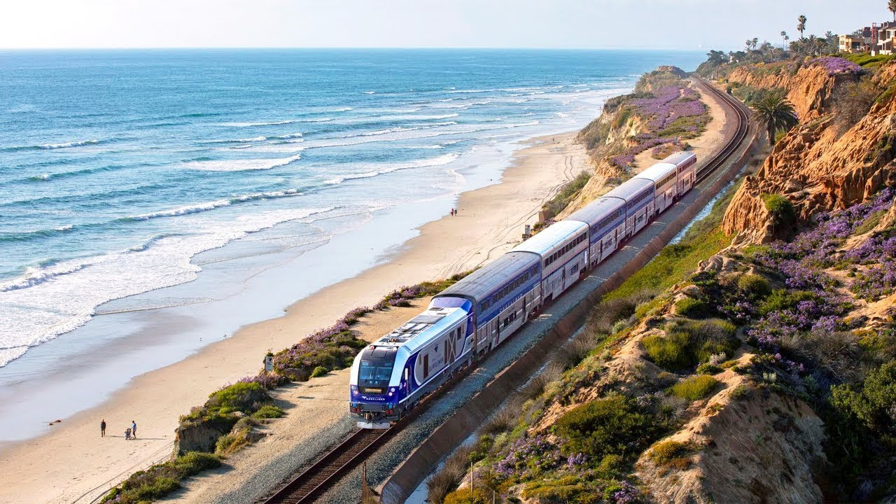 Amtrak Pacific Surfliner: Ready to Reconnect You To Southern California