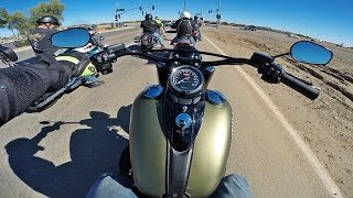 2016 Harley Davidson Softail Slim S - Test Ride Review