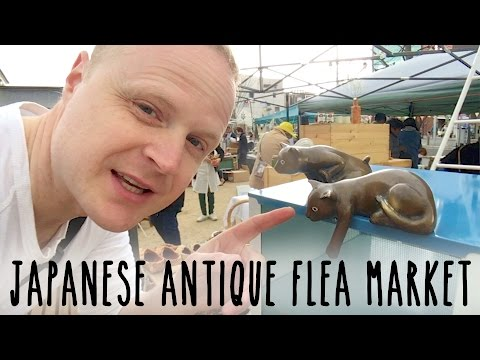 Japanese Antique Flea Market