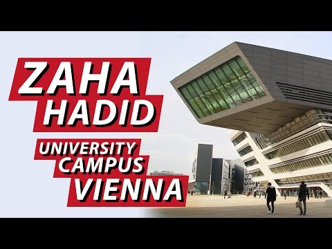 CAMPUS WU / ZAHA HADID ARCHITECTS - LIBRARY AND LEARNING CENTER