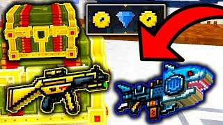 Pixel Gun 3D - How To Get Spark Shark & Golden Friend With This EASY TRICK! (13.5.1)