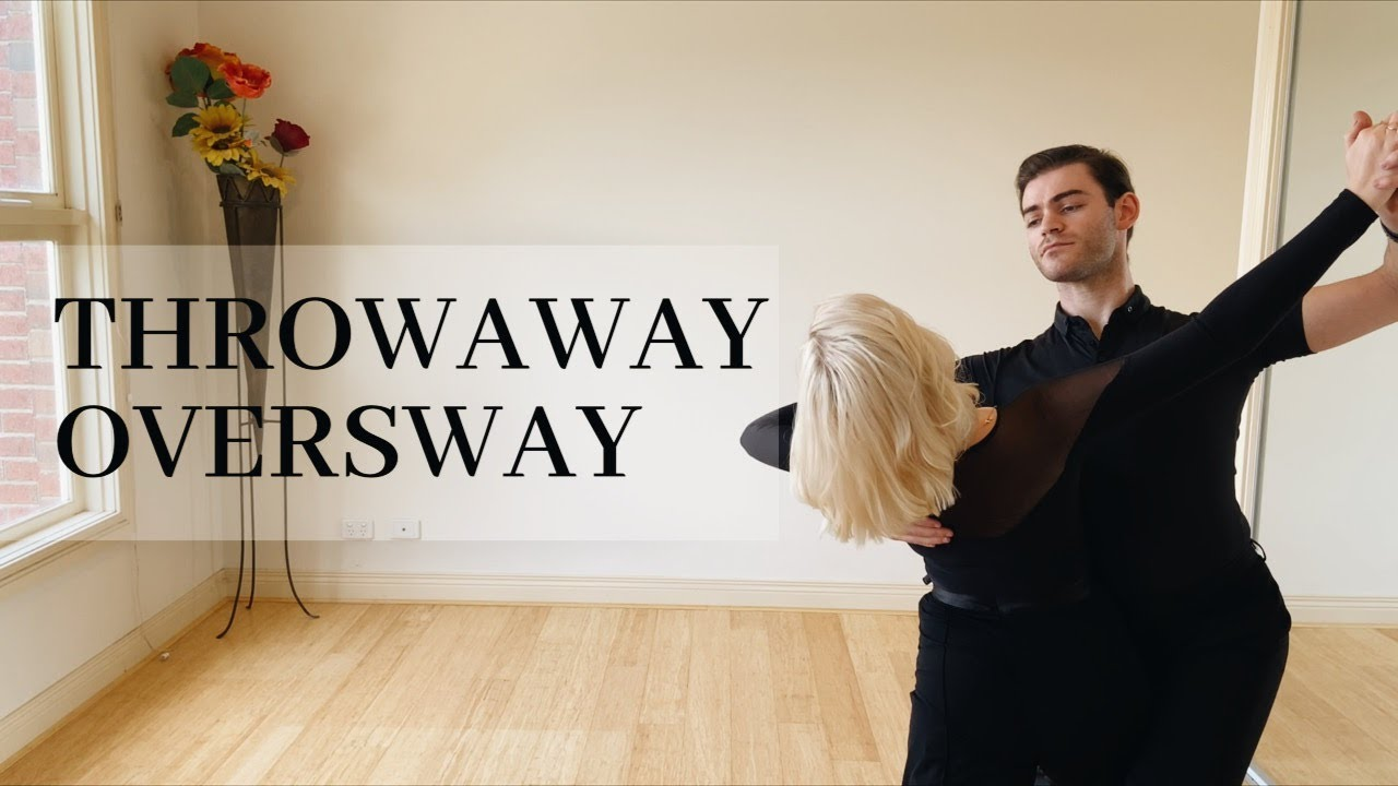 Master the Throwaway Oversway line figure | Ballroom Dance Tutorials | Episode 6