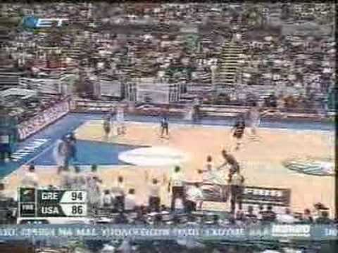 Mundobasket 2006-Semifinal-Greece vs USA - Highlights by NET