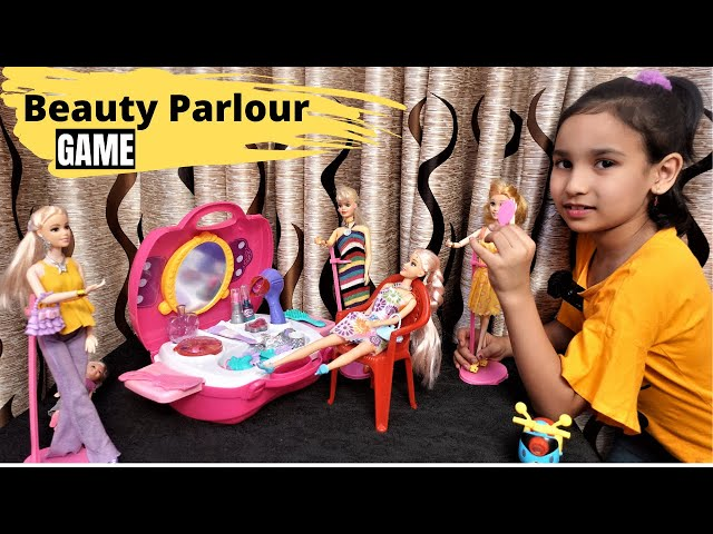 Beauty Parlour game / Shalon Game  with Pari / #LearnWithPari #Aadyansh