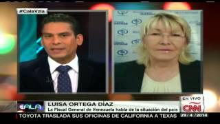 """Fiscal Ortega: """"En Venezuela no existen presos políticos"""""""